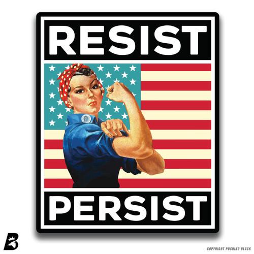 'Resist and Persist' Premium Multi-Purpose Decal