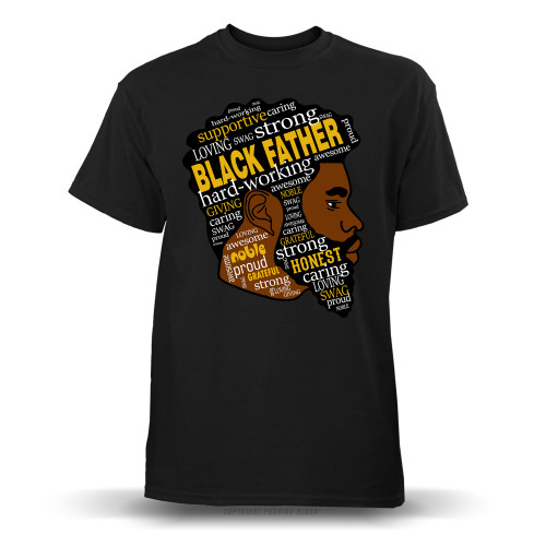 Black Fatherhood Youth T-Shirt