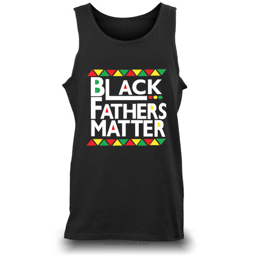 Black Fathers Matter Unisex Tank Top