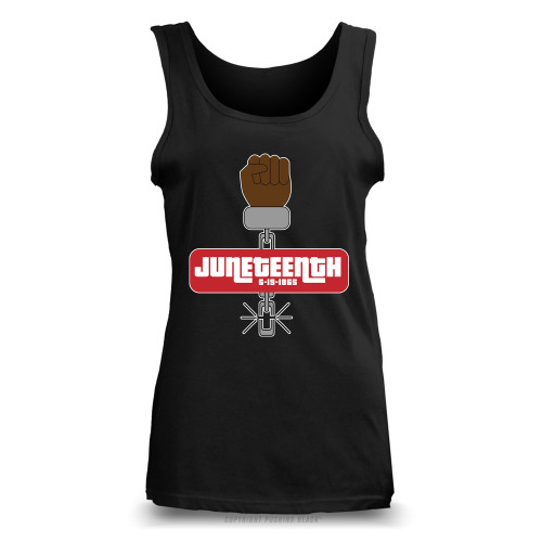 Juneteenth - Black Freedom Ladies Tank Top