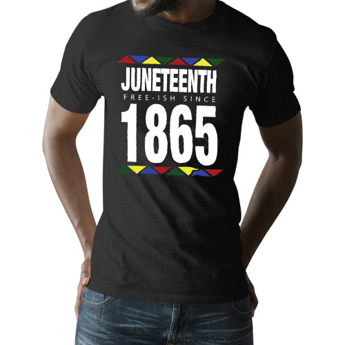 Juneteenth - Freeish Since 1865 - 90s Style Unisex T-Shirt