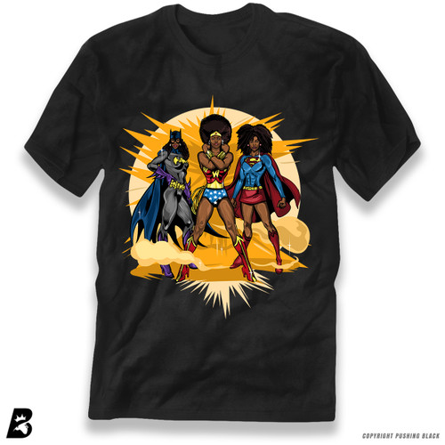 'Black Superheroines ' Premium Unisex T-Shirt