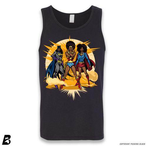 'Black Superheroines ' Sleeveless Unisex Tank Top