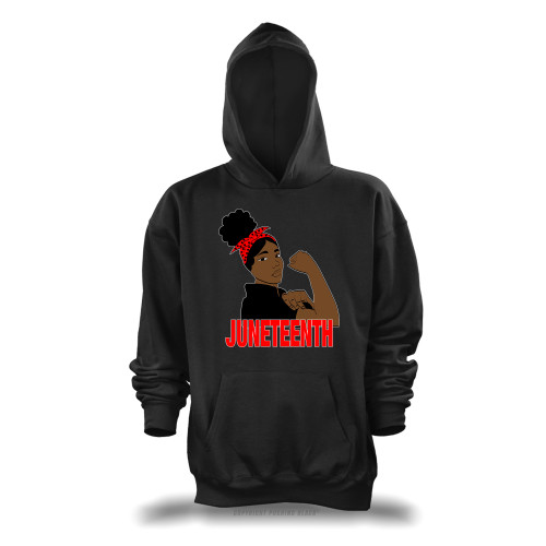 Juneteenth Freedom Fighter Unisex Pullover Hoodie