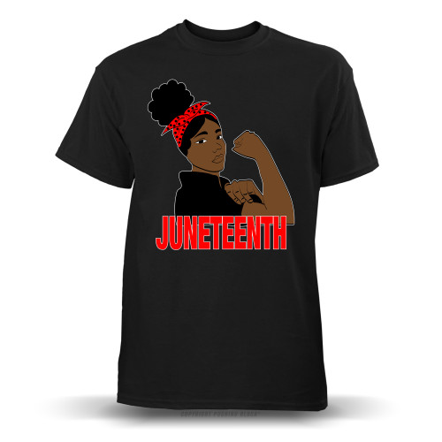 Juneteenth Freedom Fighter Youth T-Shirt