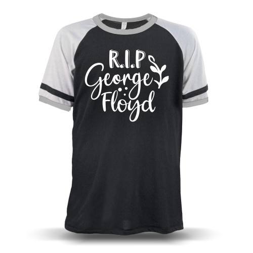 RIP George Floyd Unisex Raglan T-Shirt