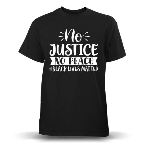 No Justice No Peace #BLACKLIVESMATTER Youth T-Shirt