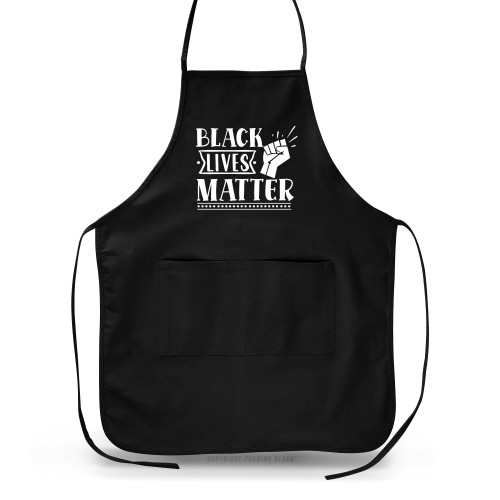 Black Lives Matter Fist Up Apron