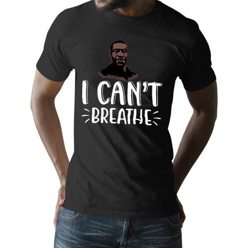 George Floyd I Can't Breathe Unisex T-Shirt