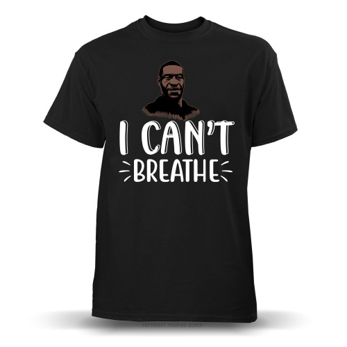 George Floyd I Can't Breathe Youth T-Shirt