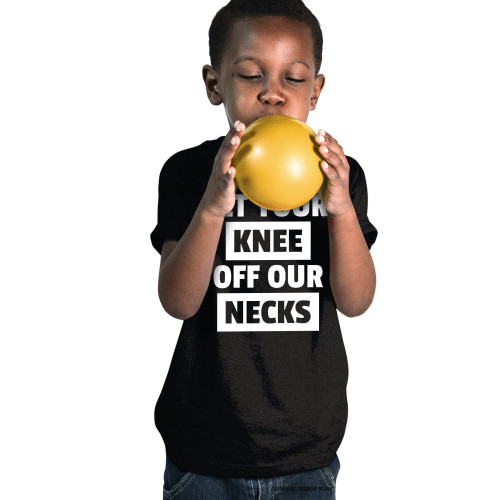 Get Your Knee Off Our Necks Youth T-Shirt