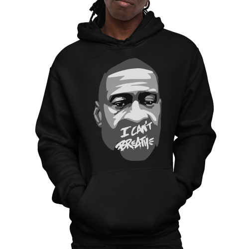George Floyd - I Can't Breathe Unisex Pullover Hoodie