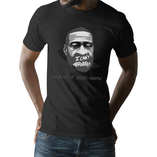George Floyd - Stop Killin' Black People Unisex T-Shirt