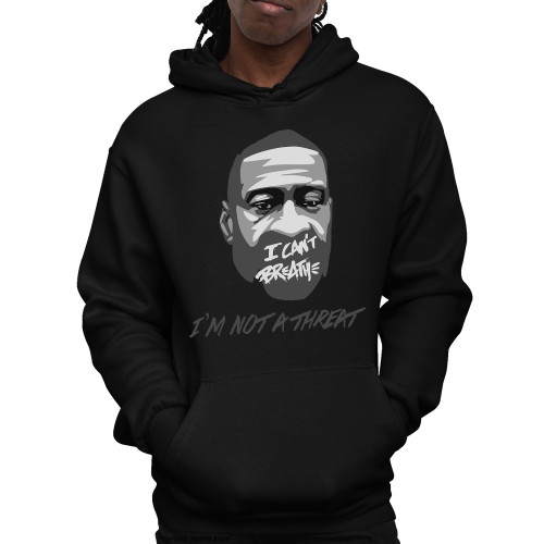 George Floyd - I'm Not A Threat Unisex Pullover Hoodie