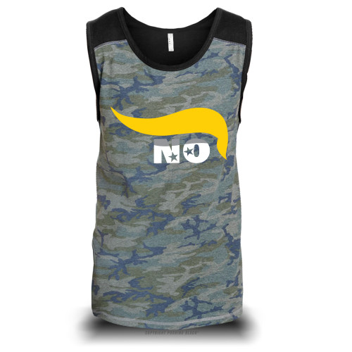 No Trump Unisex Raglan Tank Top