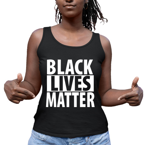 Black Lives Matter Ladies Tank Top