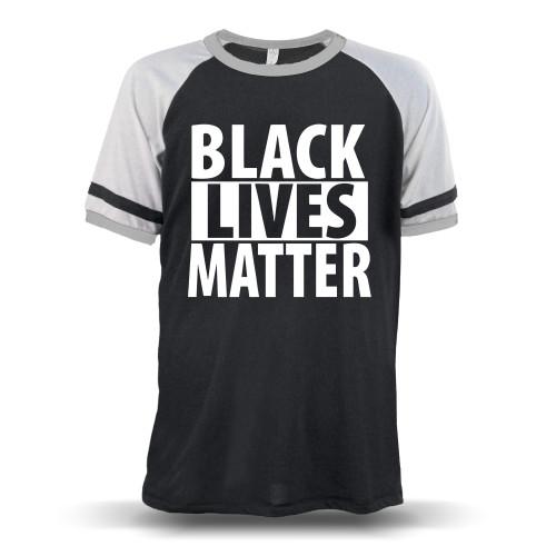 Black Lives Matter Unisex Raglan T-Shirt