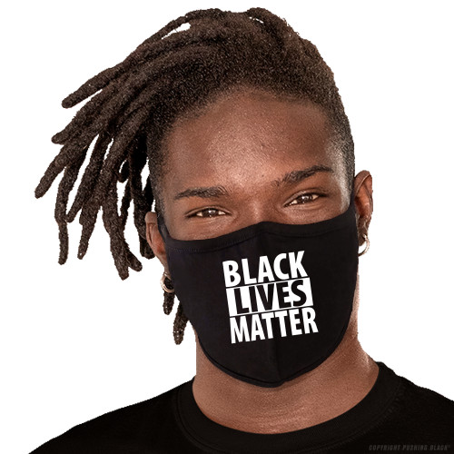 Black Lives Matter Washable Face Mask