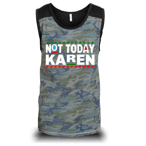 Don't Be A Karen 90s Style Unisex Raglan Tank Top