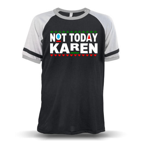 Don't Be A Karen 90s Style Unisex Raglan T-Shirt