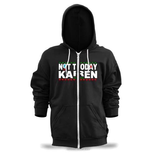 Don't Be A Karen 90s Style Unisex Zipper Hoodie