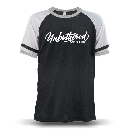 Unbothered Unisex Raglan T-Shirt