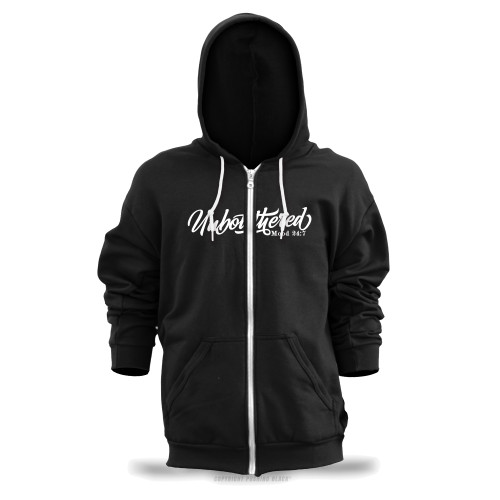 Unbothered Unisex Zipper Hoodie