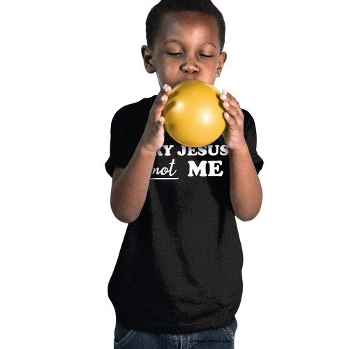 Try Jesus Not Me Youth T-Shirt