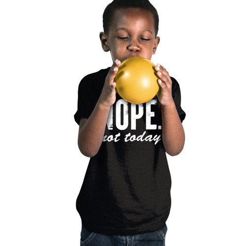 Nope Not Today Youth T-Shirt