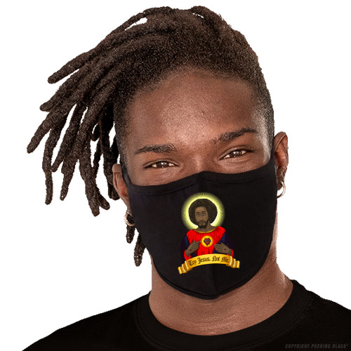 Try Black Jesus. Not Me. Washable Face Mask