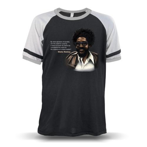 By What Standard - Walter Rodney Unisex Raglan T-Shirt