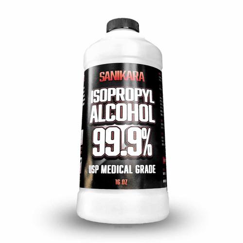99.9% Isopropyl Alcohol 16oz - Sanikara Brand