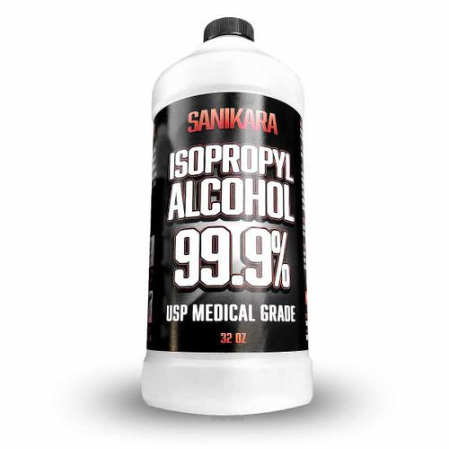 99.9% Isopropyl Alcohol 32oz - Sanikara Brand