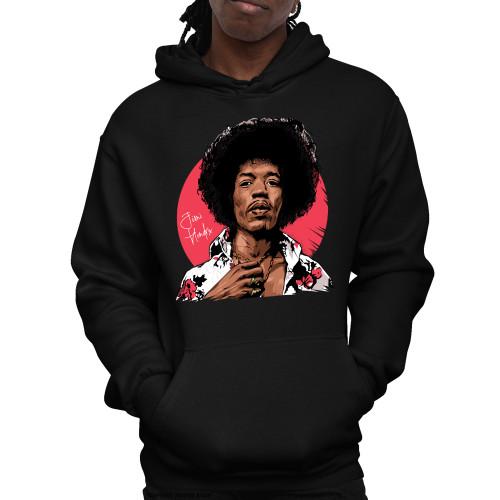 Jimi Hendrix Legacy Unisex Pullover Hoodie