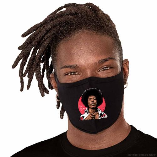 Jimi Hendrix Legacy Washable Face Mask