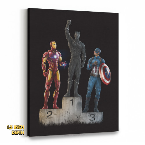 Black Panther The Greatest Premium Wall Canvas