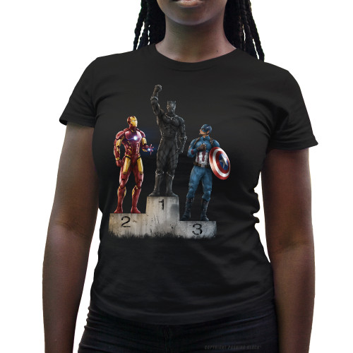 Black Panther The Greatest Ladies T-Shirt