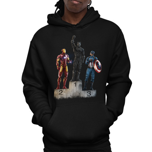 Black Panther The Greatest Unisex Pullover Hoodie