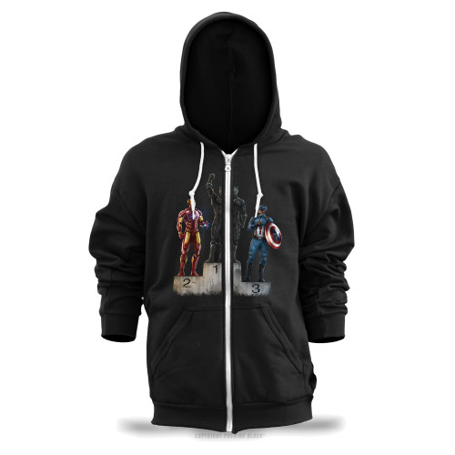 Black Panther The Greatest Unisex Zipper Hoodie