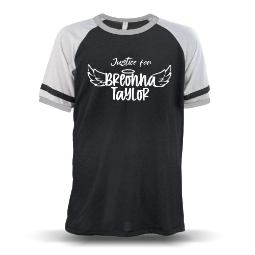 Justice for Breonna Taylor Unisex Raglan T-Shirt
