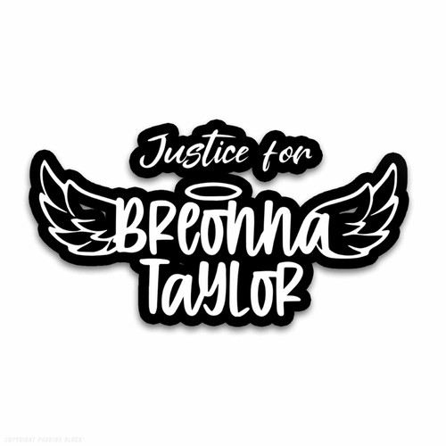 Justice for Breonna Taylor Weatherproof Vinyl Decal
