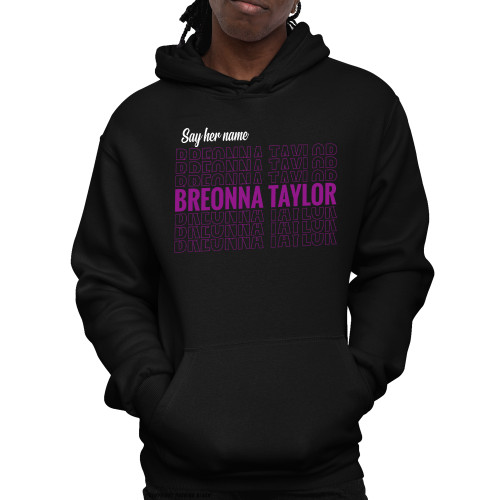 Say Her Name Breonna Taylor Unisex Pullover Hoodie