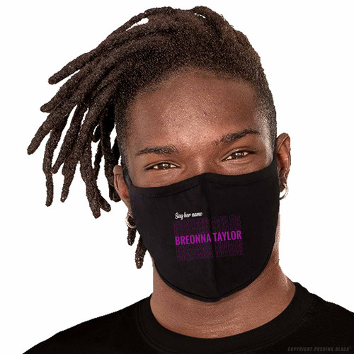 Say Her Name Breonna Taylor Washable Face Mask