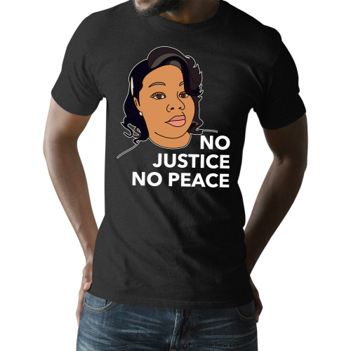 Breonna Taylor No Justice No Peace Unisex T-Shirt