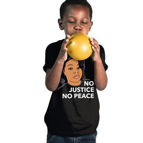 Breonna Taylor No Justice No Peace Youth T-Shirt