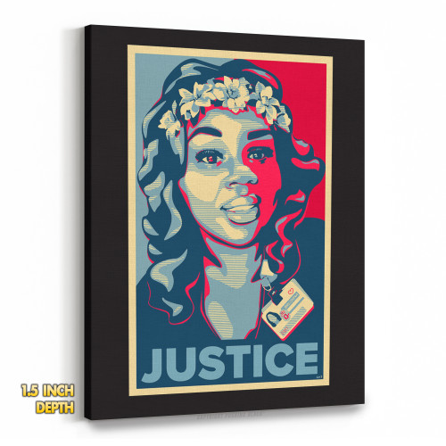 Breonna Taylor - Justice Premium Wall Canvas