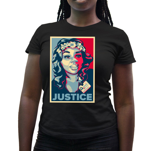 Breonna Taylor - Justice Ladies T-Shirt