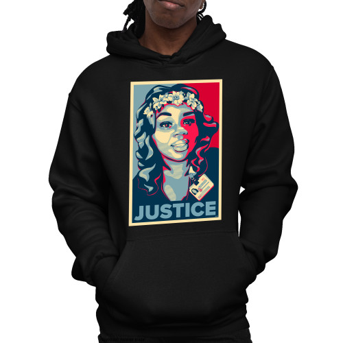 Breonna Taylor - Justice Unisex Pullover Hoodie