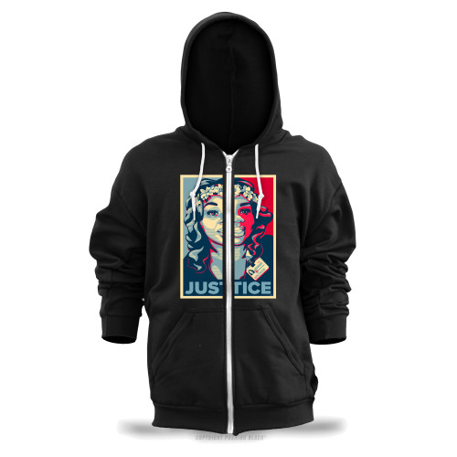 Breonna Taylor - Justice Unisex Zipper Hoodie