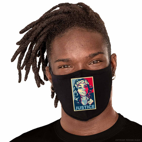 Breonna Taylor - Justice Washable Face Mask